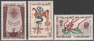 Tunisia #404-6  MNH (S9666L)