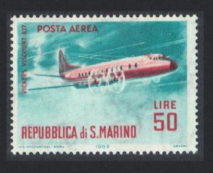 San Marino Aircraft Vickers Viscount 50L SG#736