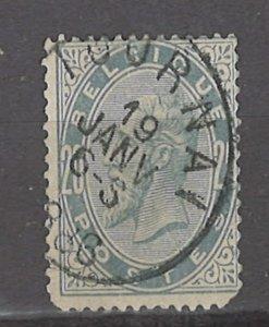 COLLECTION LOT # 3075 BELGIUM #46 1883 CV+$10