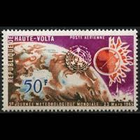 BURKINA FASO 1965 - Scott# C21 World Meteo Day Set of 1 NH