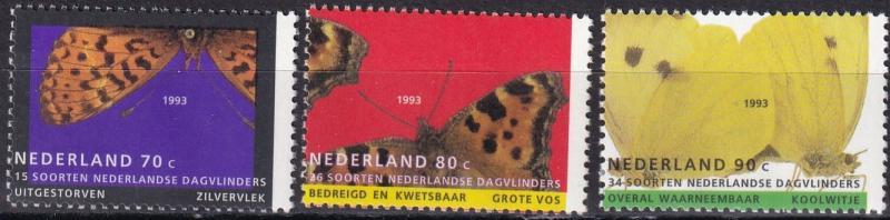Netherlands #830-32  MNH  CV $2.70 (A19634)