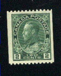 Canada #131  Mint VF 1915   PD