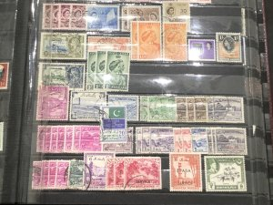 W.W. Stamps Beautiful Few Pages Falling Out Lots Of Nice Items