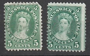 #8 New Brunswick Mint NG & Used Lot#190822-4