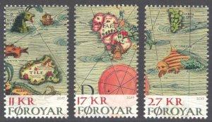 Faroe Islands 2019 Scott #723-725 Mint Never Hinged