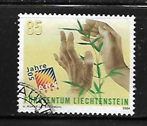 LIECHTENSTEIN, 1279, USED, AHV OLD AGE AND SURVIVORS