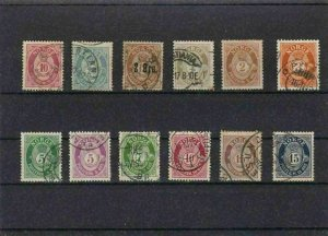 NORWAY MOUNTED MINT OR USED STAMPS ON  STOCK CARD  REF R859