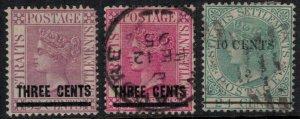 Straits Settlements #73-5*/u  CV $4.50