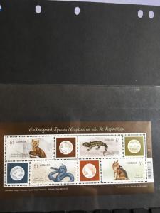 Canada 2006 Souv. Sheet #2173 Mint VF-NH Endangered Species