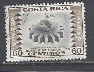 Costa Rica Sc # C238 used (RS)