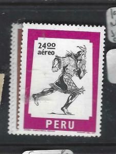 PERU  (PP0606B) A/M SC C465-7   MNH