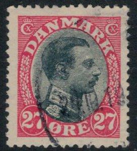 Denmark #110  CV $65.00