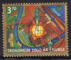 NORWAY SC# 1168 *USED* 3.70k  1997      SEE SCAN 1