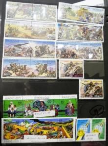 EDW1949SELL : LIBYA Nice collection of all Diff VF MNH mostly fr 1980s Cat $185.