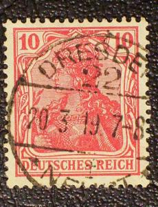 Germany Scott #83 used