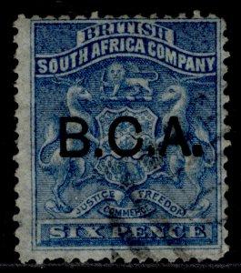 NYASALAND - BCA QV SG5, 6d deep blue, USED. Cat £11.