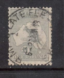 Australia #128 VF Used With Lovely Cancel