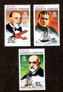 British Antarctic Territory 55-57 Mint NH MNH!