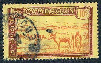 Cameroun 174 Used Herder and Cattle (BP5419)