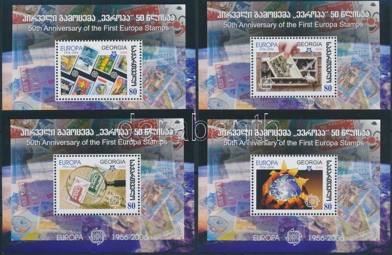 Georgia stamp Europa CEPT block set 2006 MNH Mi 35-38 WS177419
