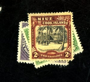 NIVE #73-5 MINT F-VF OG LH Cat $30