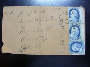 U.S. 7 PAIR, 21 Used ON COVER SCV$3,600.00+ Low Start
