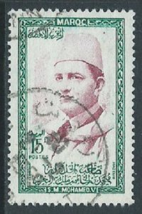 Morocco, Sc #3, 15fr Used