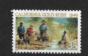 UNITED STATES, 3235, MNH, CALIFORNIA GOLD RUSH
