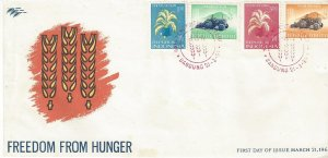 Indonesia 585-8 FDC UN  Freedom From Hunger