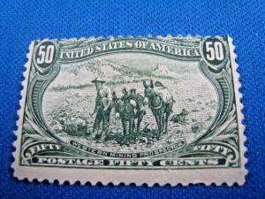U.S. SCOTT #291  -  Used