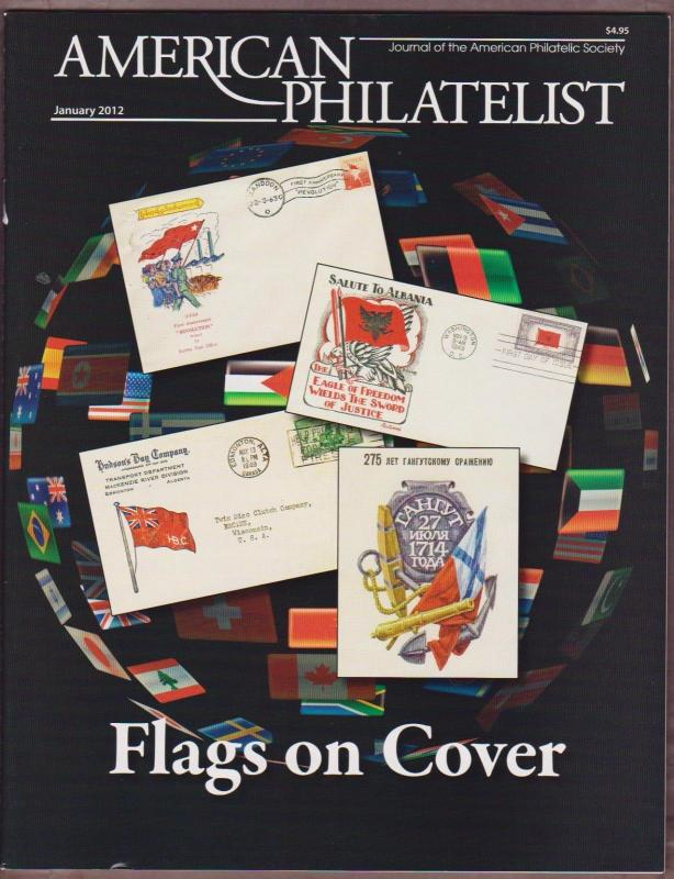APS Magazine Jan 2012 , Flags on Cover - I Combine S/H