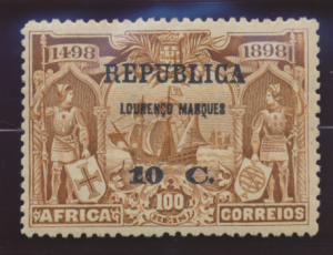 Lourenco Marques Stamp Scott #106, Mint Heavily Hinged - Free U.S. Shipping, ...