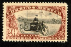 MEXICO E2 20cts Motorcycle. Special Delivery, wmkd, MINT, NH. F-VF.