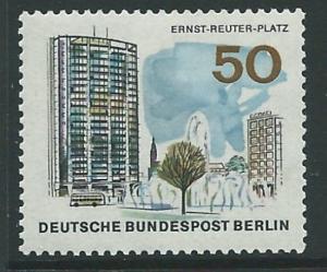 GERMANY SGB270 1965 50pf ERNEST REUTER SQUARE MNH