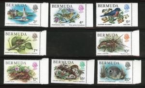 Bermuda Scott 363-366 + 368-371 MNH** Short set CV$9.90