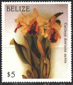 Belize. 1987. À967 from the series. Flowers, flora. MNH.