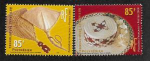 FRENCH POLYNESIA SC# 787-88 FVF/MNH 2000