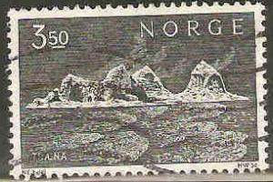 Norway Used Sc 529 - Traena Island