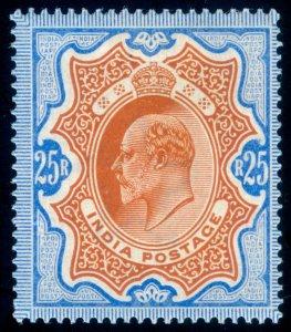 MOMEN: INDIA SG #147 1902-11 MINT OG H VF