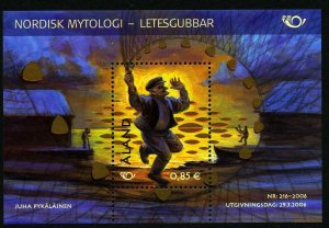 Aland Finland 2006 S/S Nordic Mythology. MNH