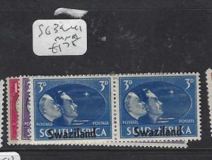 SWAZILAND  (P1901B)   KGVI PEACE  SG 39-41   MNH