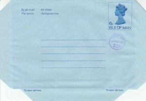 Isle of Man Higgins & Gage FG7 Unused.