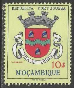 MOZAMBIQUE 421 MNH ARMS Z418-2