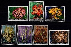 Papua New Guinea 1982 Corals, Part set [Mint]