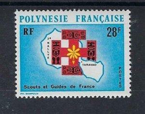 1971 Boy Scout Girl Guide French Polynesia
