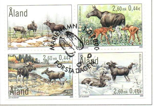 Briefmarken Aland Block 4 ** 2000 Europa