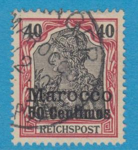 GERMAN COLONIES OFFICES IN MOROCCO 13 USED  NO FAULTS EXTRA FINE !