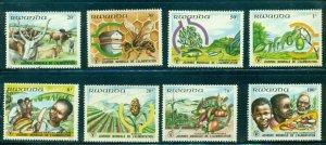 Rwanda  #1075-82 (1982 World Food Day set) VFMNH CV $7.10