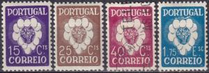 Portugal #575-8  F-VF  CV $34.75  (SU7144)