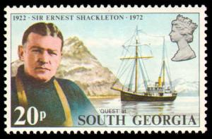 SOUTH GEORGIA #31-34 COMPLETE SET MINT NEVER HINGED